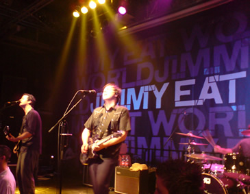Jimmy Eat World - Clubshow in Köln